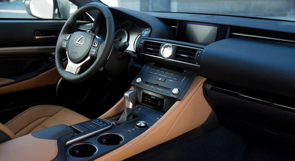 Nội thất Lexus RC200t