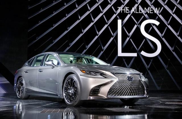 Lexus LS 2018 thế hệ mới ra mắt toàn cầu tại NAIAS 2017