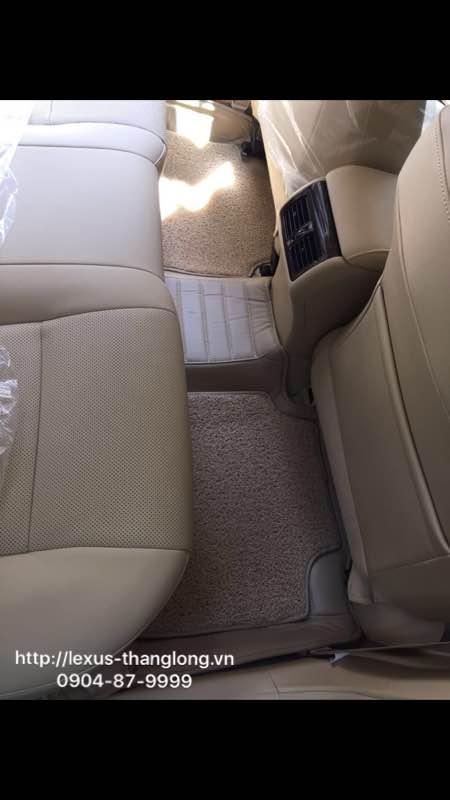 Bộ thảm lót chân bốn mùa bằng da đồng màu nội thất cho xe RX