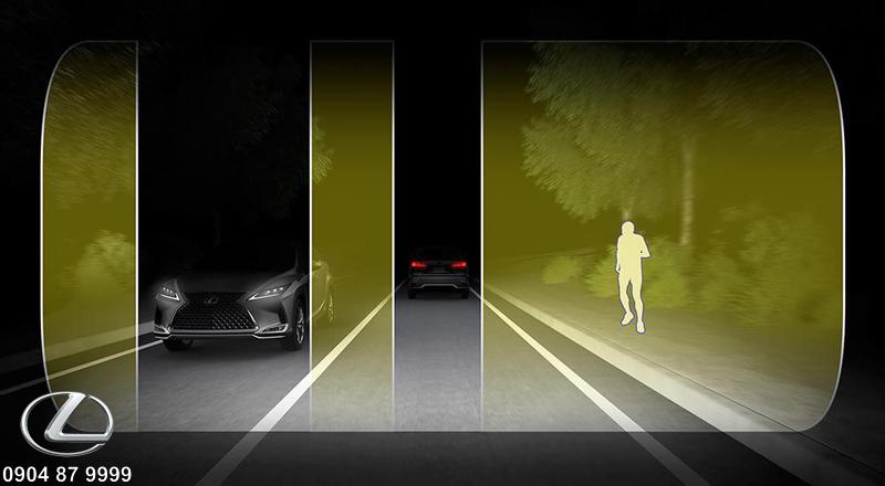 Đèn pha tự động thích ứng công nghệ Bladescan không làm chói mắt tài xế ngược chiều