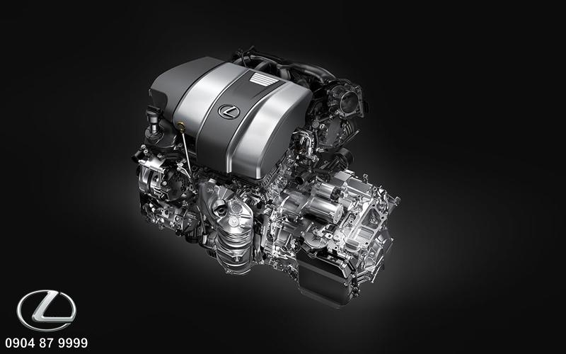 Động cơ V6 3.5 lít với công suất cực đại là 296 mã lực tại 6300 vòng/phút