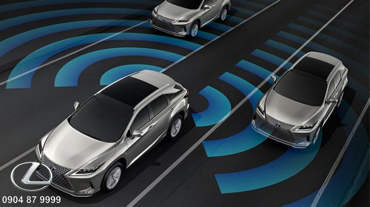 Hệ thống cảnh báo điểm mù phát hiện xe đang tới gần cho người lái