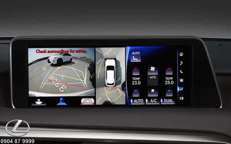 Hệ thống hỗ trợ đỗ xe tự động kết hợp cùng camera lùi giúp người lái đỗ xe dễ dàng