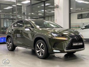 Đầu xe Lexus NX 300 2020 2021