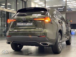 Đuôi xe Lexus NX300 2020 2021