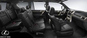Màu nội thất Lexus GX 460 2020 2021