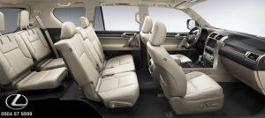 Màu nội thất Lexus GX460 2020 2021