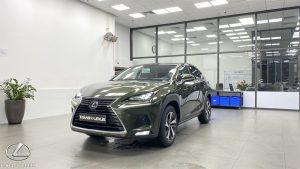 Thân xe Lexus NX300 2020 2021