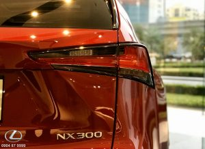 Ngoại thất xe Lexus NX300 2020 2021
